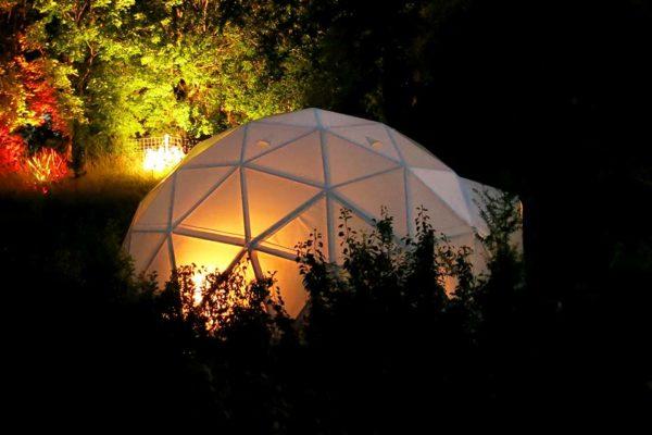 Hochzeitsnacht im Zelt